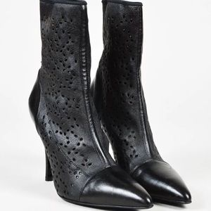 Shoes - **AVAILABLE** Gianni VERSACE perforated boots.